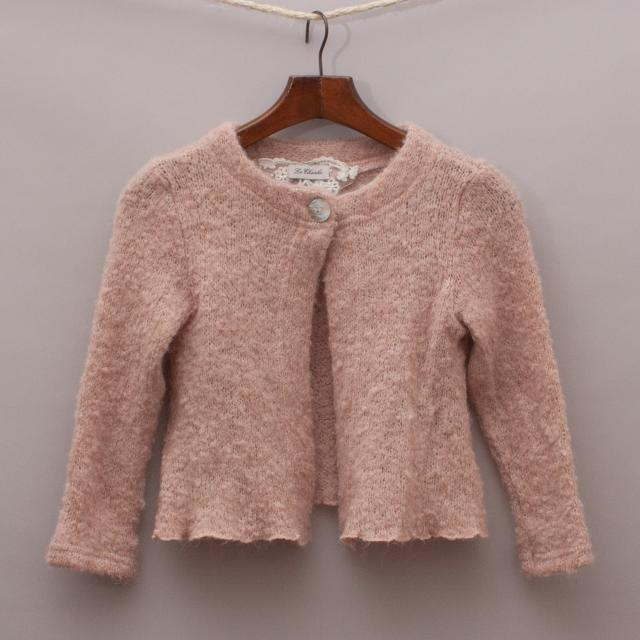 Le Chicche Fuzzy Cardigan