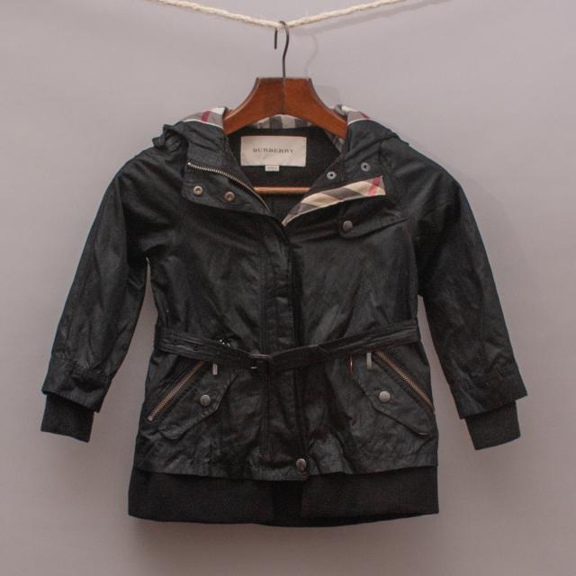 Burberry Black Detailed Jacket