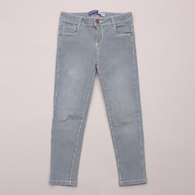 Okaidi Pinstripe Pants