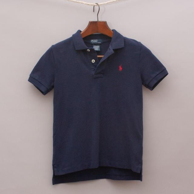 Ralph Lauren Navy Blue Polo Shirt