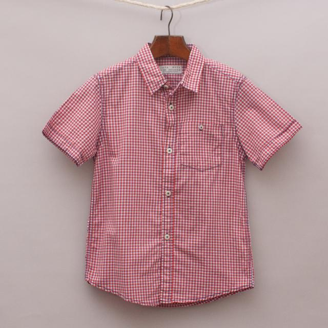 Zara Check Shirt 'Brand New'
