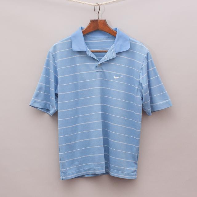 Nike Striped Polo Shirt