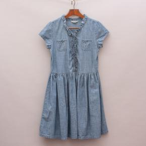 Land's End Ruffle Dress