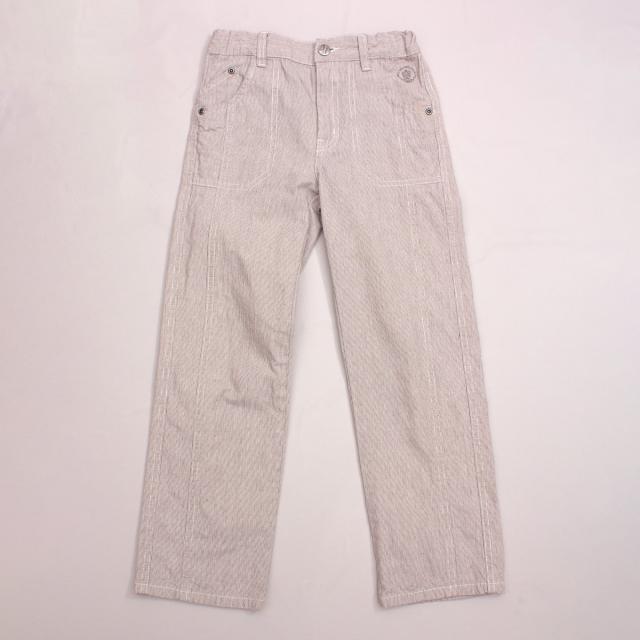 Alphabet Pinstripe Pants
