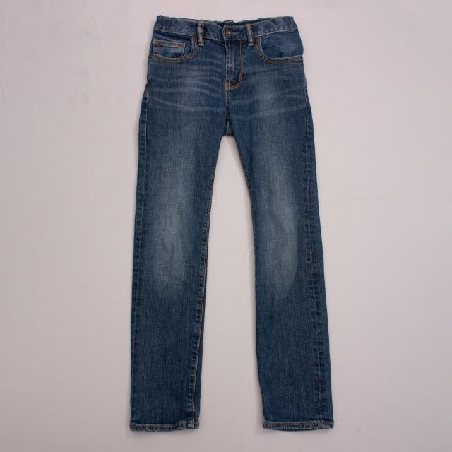 Gap Skinny Distressed Jeans