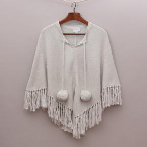 Witchery Grey Poncho
