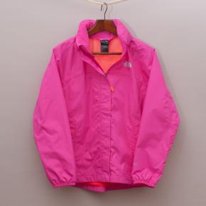 North Face Bright Pink Jacket