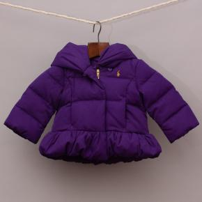 Ralph Lauren Purple Puffer Jacket