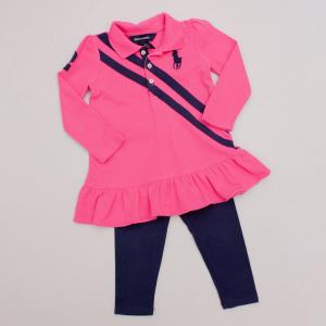 Ralph Lauren Dress & Leggings Set