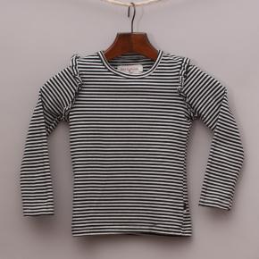 Petit De Nimes Striped Long Sleeve Top