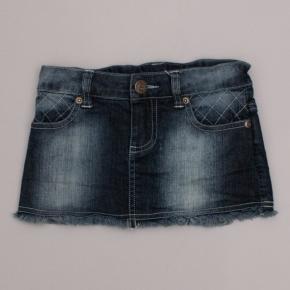 Paper Wings Denim Skirt