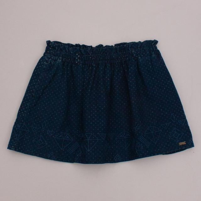 Scotch R'Belle Polka Dot Skirt