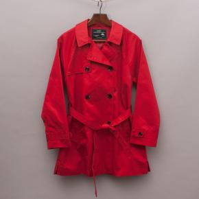 Zara Red Trench Coat