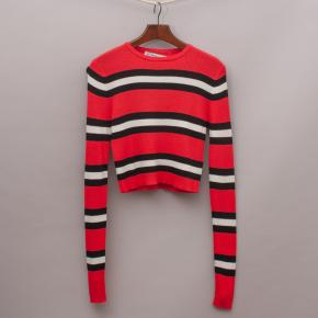 Zara Striped Knit Top