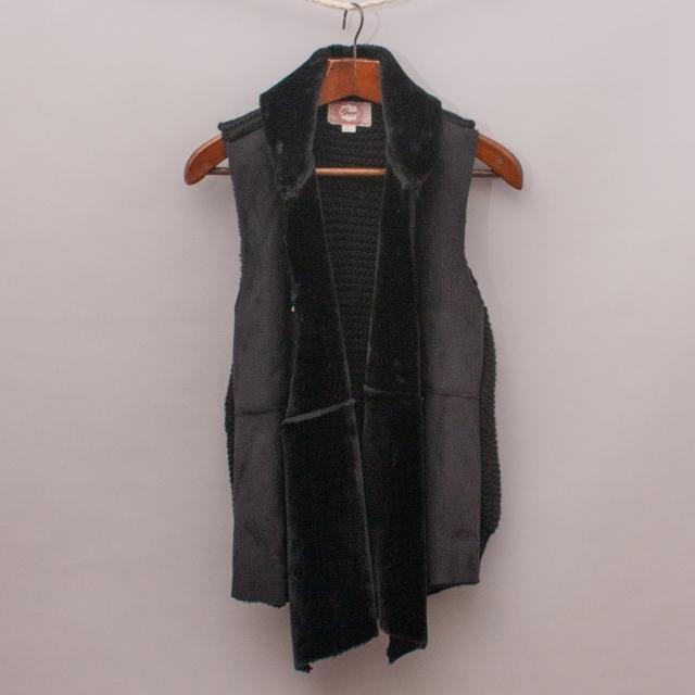 Gumboots Faux Fur Vest