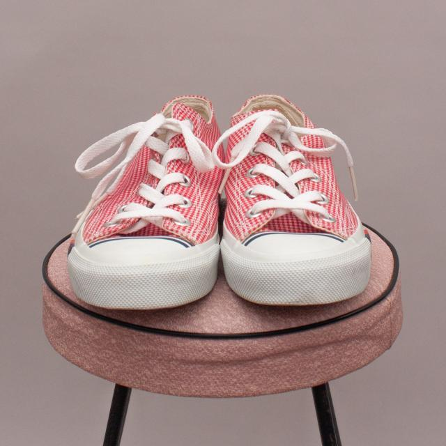 Pro Keds Gingham Low Rise Lace Ups - US 5
