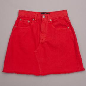 Dotti Red Denim Skirt