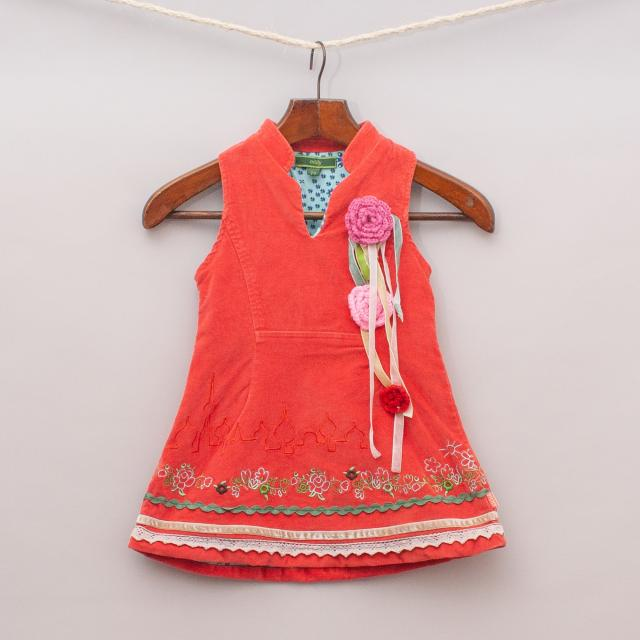 Oilily Embroidered Dress