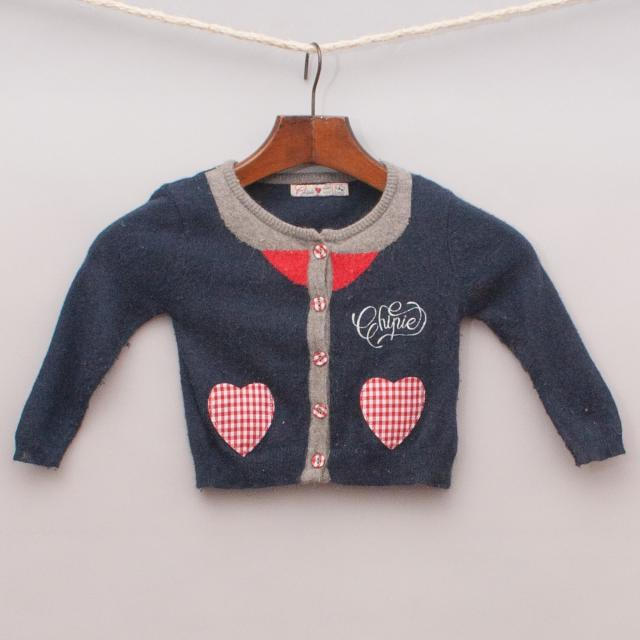Chipie Heart Cardigan