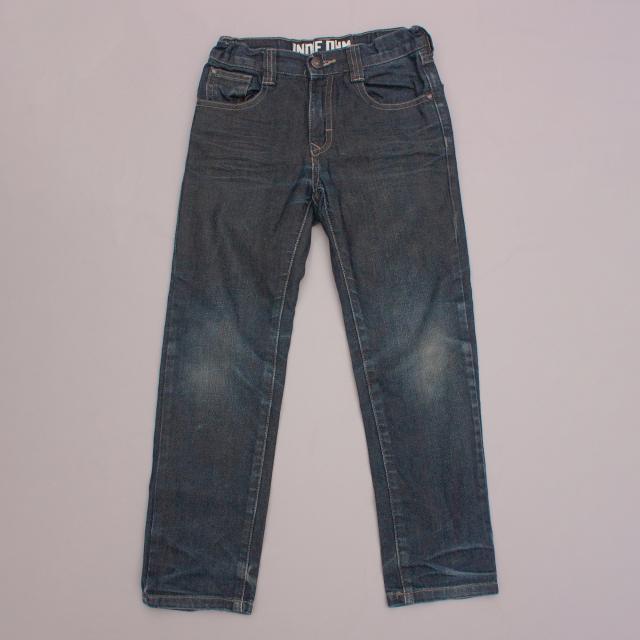 Indie Distressed Jeans