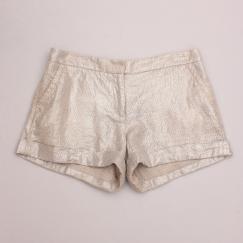 Mint Metallic Shorts