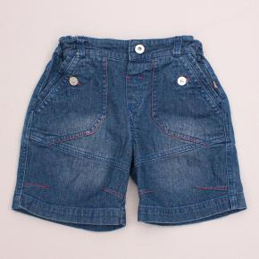 Plum Detailed Denim Shorts