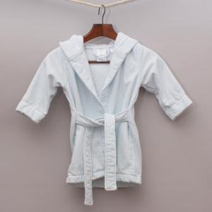 Baby Sheridan Striped Dressing Gown