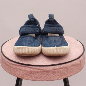 Walnut Denim Shoes - EU 25