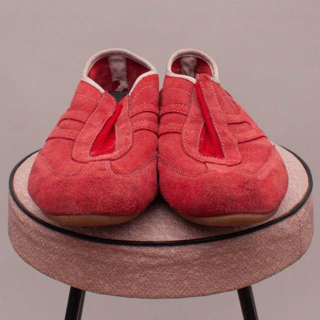 DKNY Suede Red Shoes - UK 6