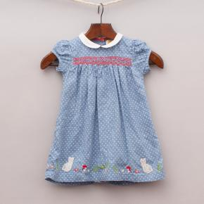 Baby Boden Polka Dot Dress