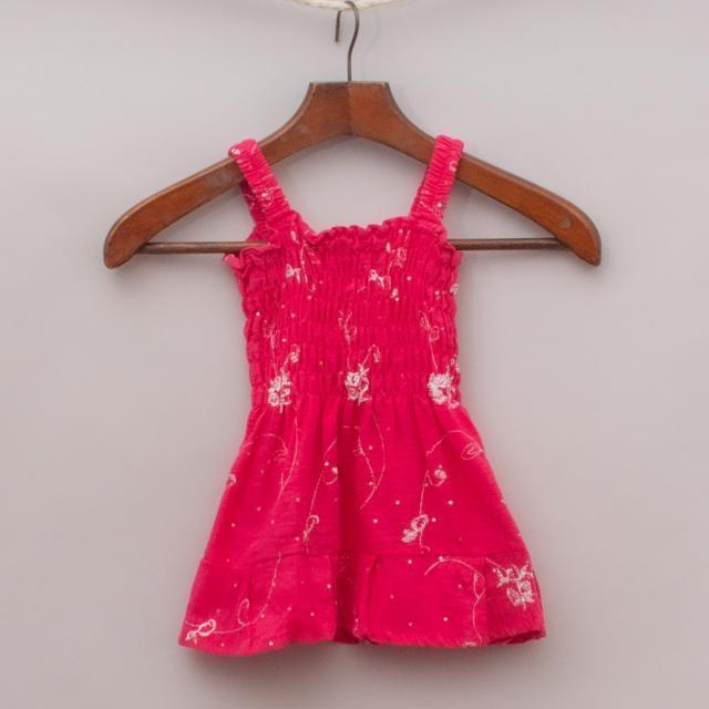 Hot Pink Embellished Top