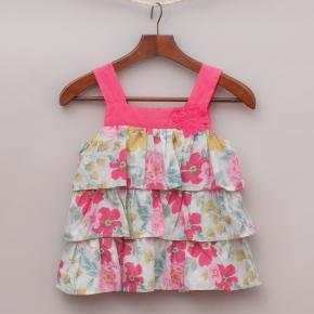 """Origami Floral Top """"Brand New"""""""