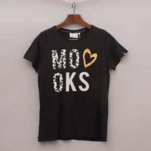 "Mooks Black T-Shirt ""Brand New"""