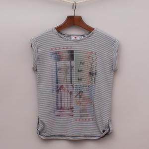 "Eve's Sister Striped T-Shirt ""Brand New"""