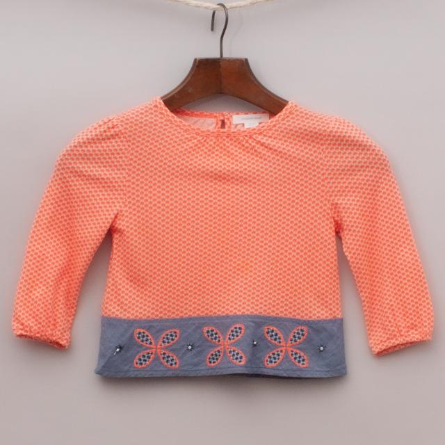 Country Road Patterned Top