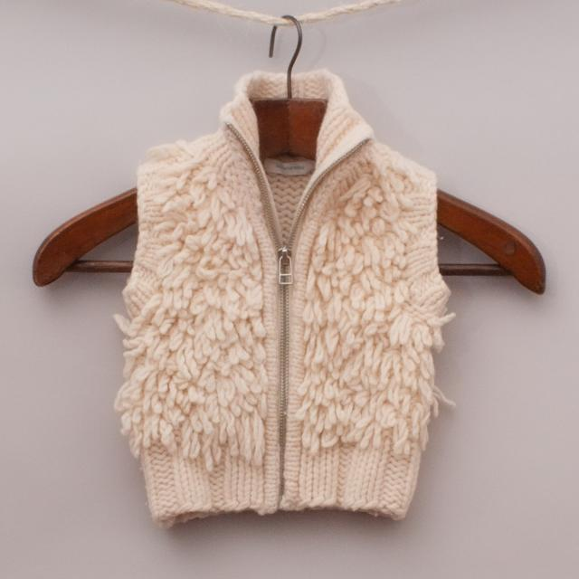 Country Road Fuzzy Vest