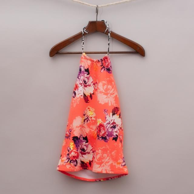 "Seafolly Floral Swim Tank Top ""Brand New"""