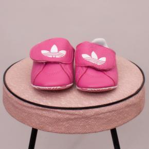 "Adidas Pink Slip On's - UK 3 ""Brand New"""