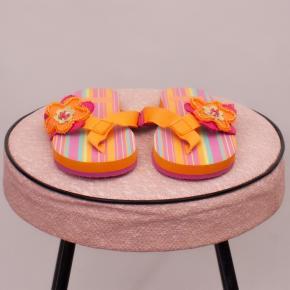 "Za Girls Striped Thongs - EU 24 ""Brand New"""