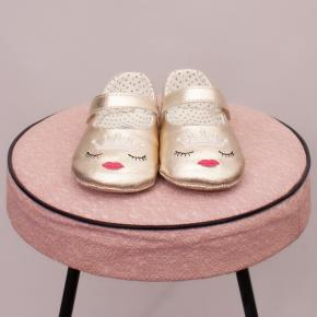 """Seed Metallic Gold Mary Janes - 12-18Mths """"Brand New"""""""