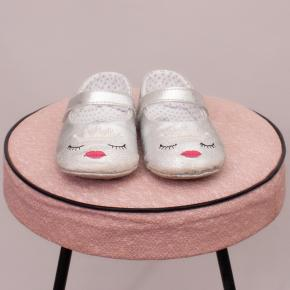 """Seed Metallic Silver Mary Janes - 12-18Mths """"Brand New"""""""