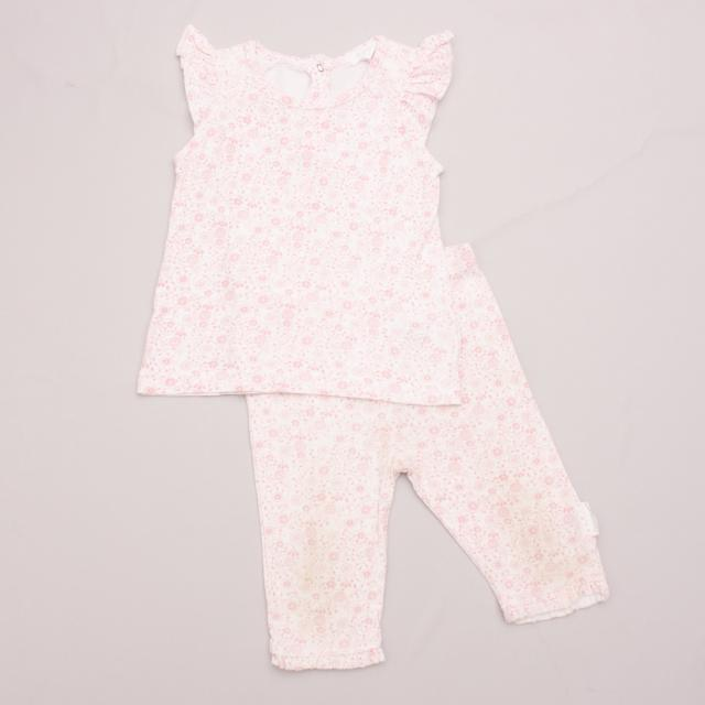Purebaby Patterned Set