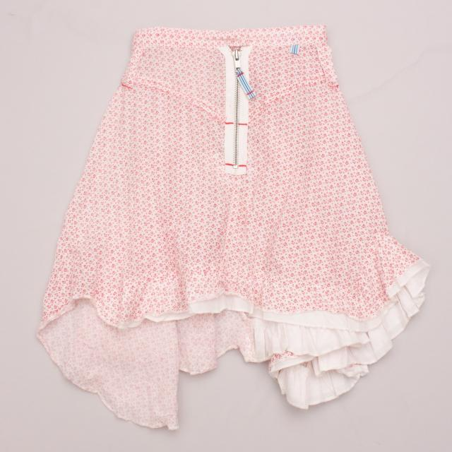 "Minihaha Patterned Skirt ""Brand New"""