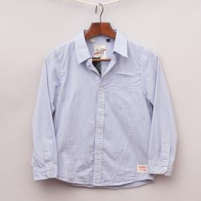 """Brooklyn Industries Pinstripe Shirt """"Brand New"""""""
