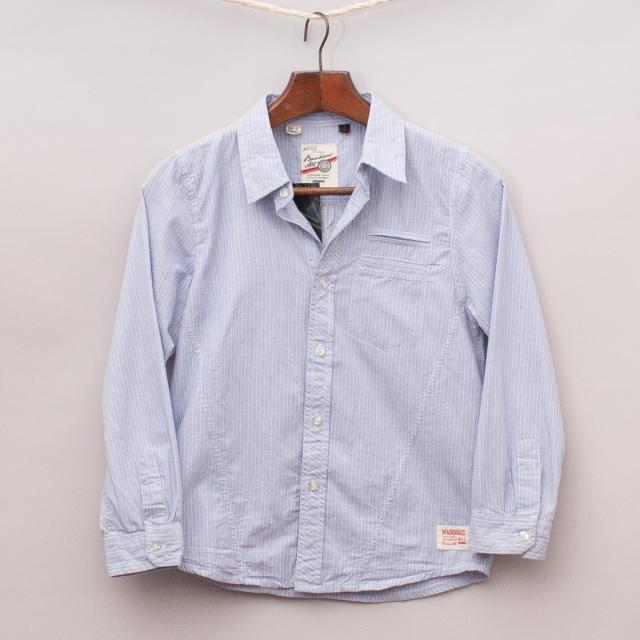 "Brooklyn Industries Pinstripe Shirt ""Brand New"""