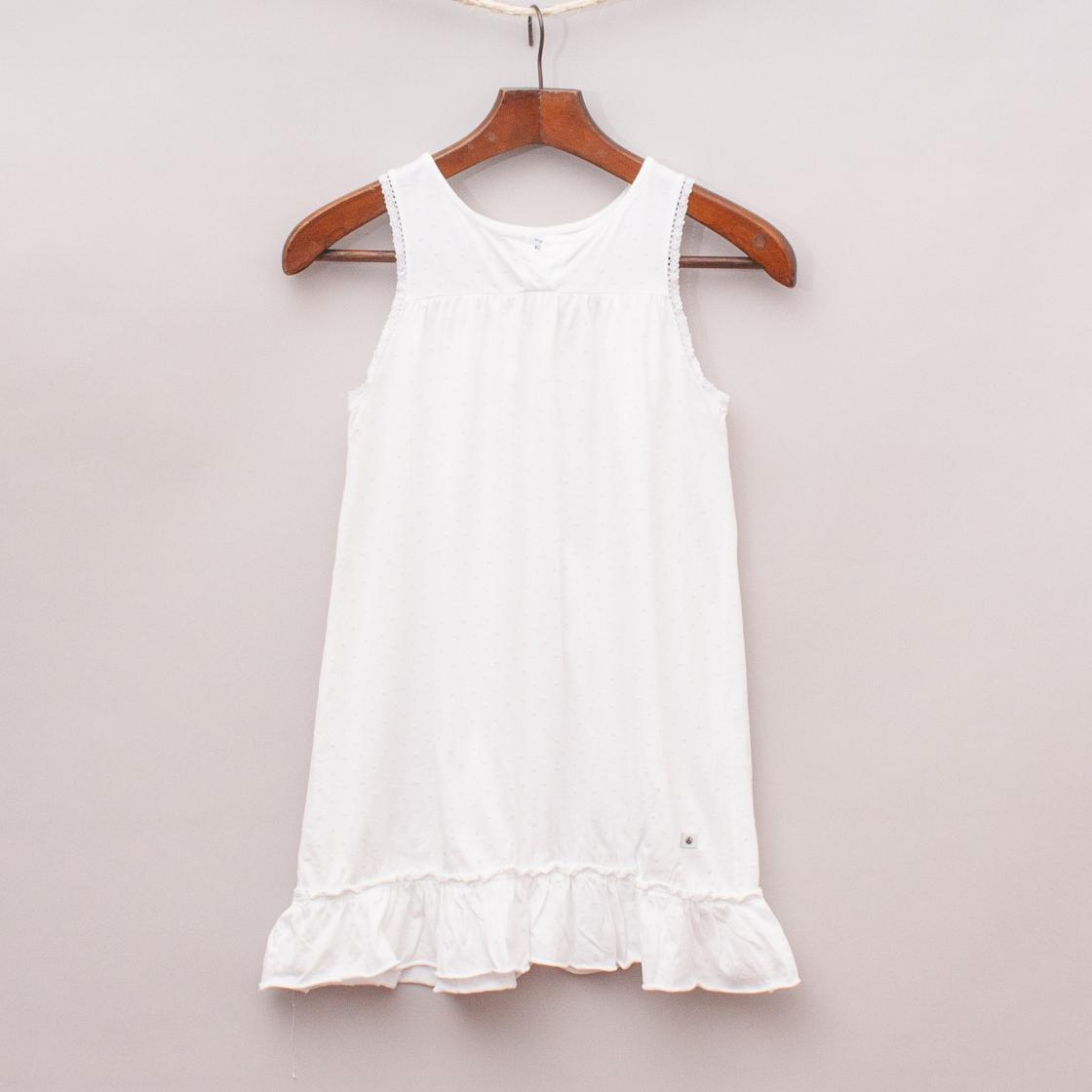 Petit Bateau White Dress
