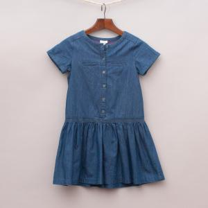 Jacadi Denim Dress