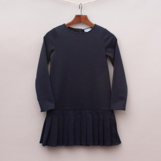 Jacadi Navy Blue Dress