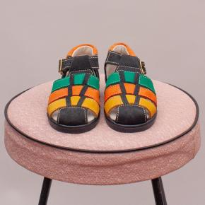 """Crocodilino Coloured Suede Sandals - EU 19 """"Brand New"""""""