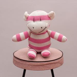 Penny Striped Monkey Toy